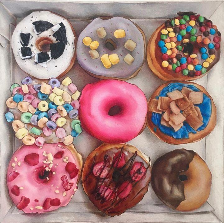 Donuts - Vicky Xu
