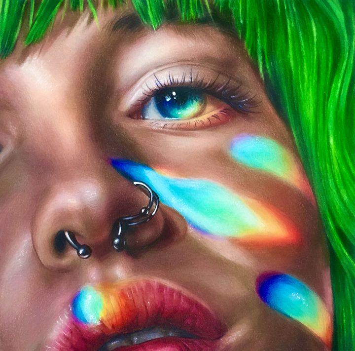 Rainbow Reflections - Vicky Xu