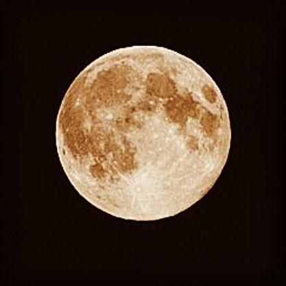 The moon - Maria
