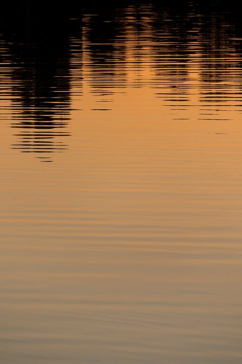 Sunset reflection on the lake - Journey is my Home