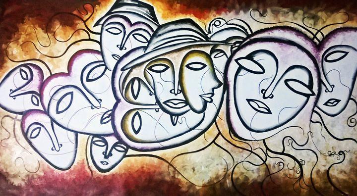 never erase face writting - Fine art