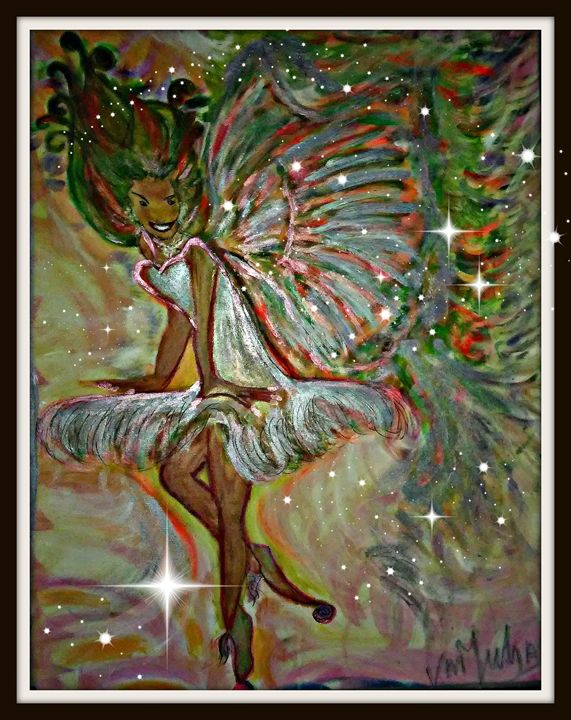 Feary Angel - Abstracts Art Angel