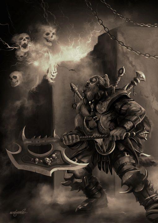 The Barbarian Hero - Jassar