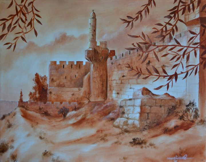 Old Walls of Jerusalem - Jassar
