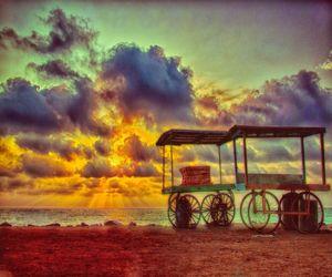 Sunrise in Pondicherry