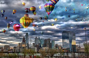 Hot Air Ballon Fest in Philly