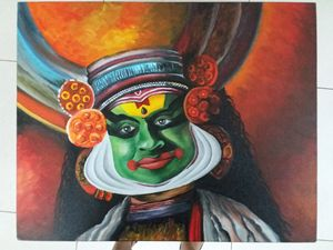 Kerala Dance Painting