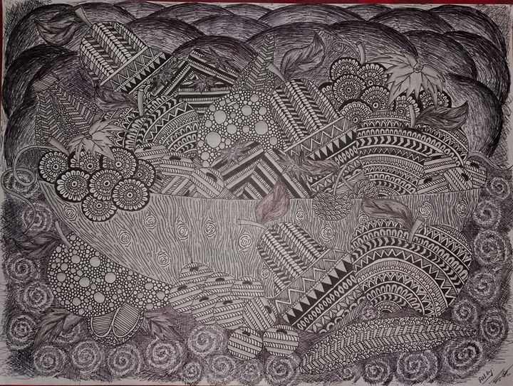 design of fruits - Prajwala Math