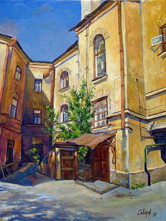 Old House on Gorky Street - Ruslan Sabirov