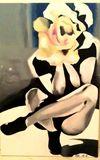 20x30 Girl as Flower