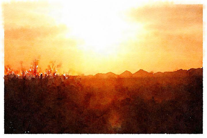 DESERT SUN - Infinity Bunny Studio