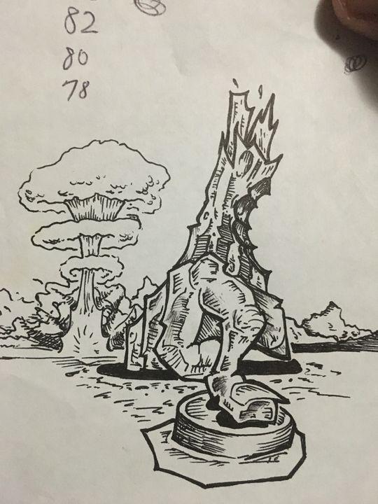 Finger of doom - Dale's Artbook