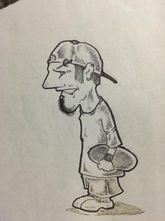 Skater - Dale's Artbook