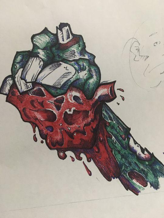 Zombie heart - Dale's Artbook