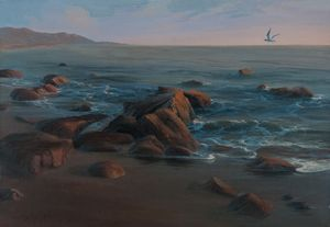 "Dalshev A. ""Gull over the sea"""