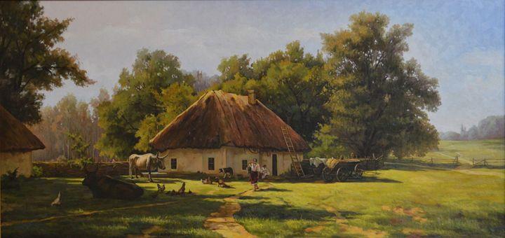 "Orlovsky V.""A spring day in Ukraine"" - Online art gallery. Ukraine artists"