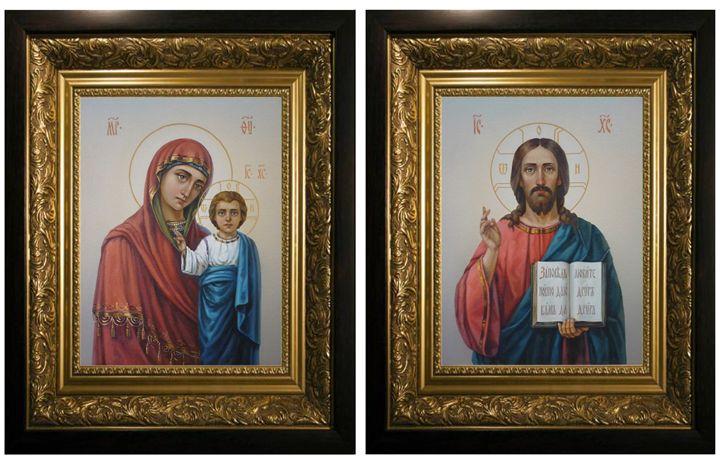 "Bayrak Sergiy ""Wedding icons"" - Online art gallery. Ukraine artists"