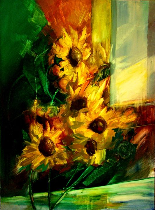 "Kocherzhuk M. ""Sunflowers"" - Online art gallery. Ukraine artists"