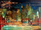 """Chistyakova A. """"New York night"""""""