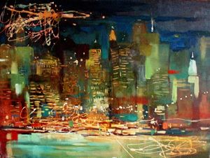 "Chistyakova A. ""New York night"""