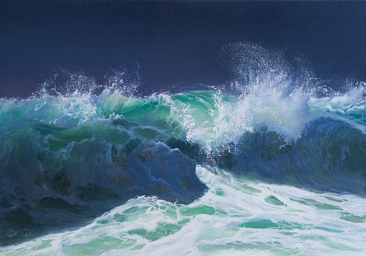 "Dalshev A. ""Storm"" - Online art gallery. Ukraine artists"