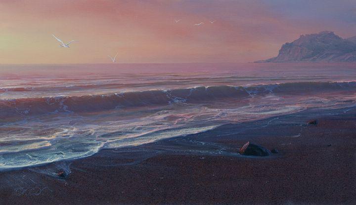 "Dalshev A. ""Seascape"" - Online art gallery. Ukraine artists"