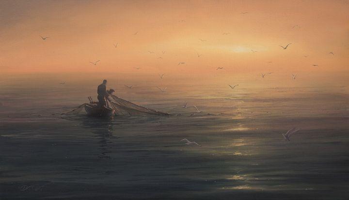 "Dalshev A. ""Trawl"" - Online art gallery. Ukraine artists"