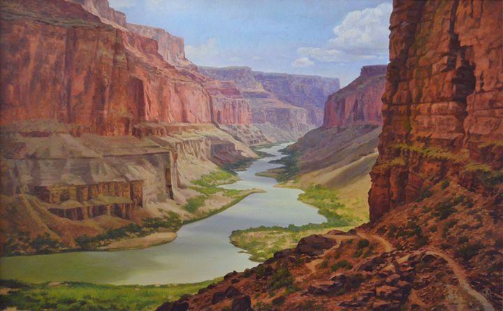 "Bayrak S. ""Colorado Canyon"" - Online art gallery. Ukraine artists"
