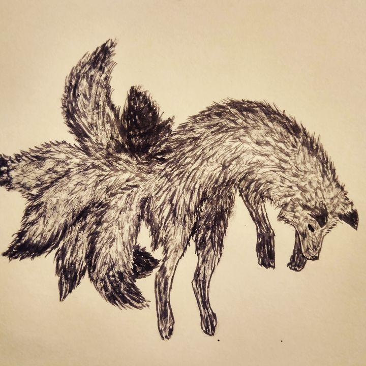 Jumping kitsune - Morenis