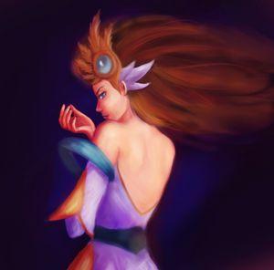 Divine sword Irelia