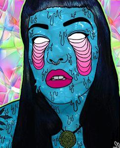 Zombie Girl (Portrait)