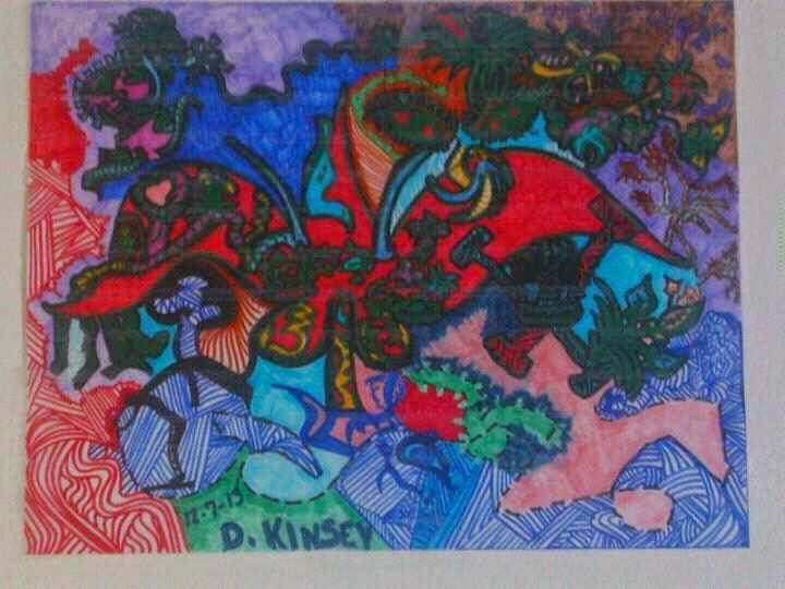 #7  Abstract Designs by P.K. ~69~ - Abstract Designs by Penelope Kinsey ~P.K.-69~