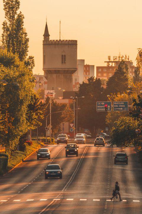 Evening Traffic - Photo:N