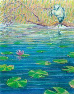 Heron and Lotus - Brian Shaw