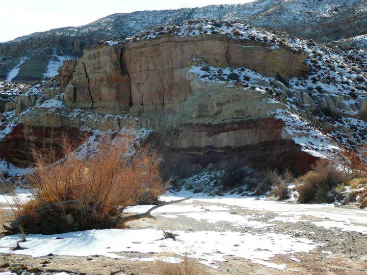 Snow Desert Wash - Brian Shaw
