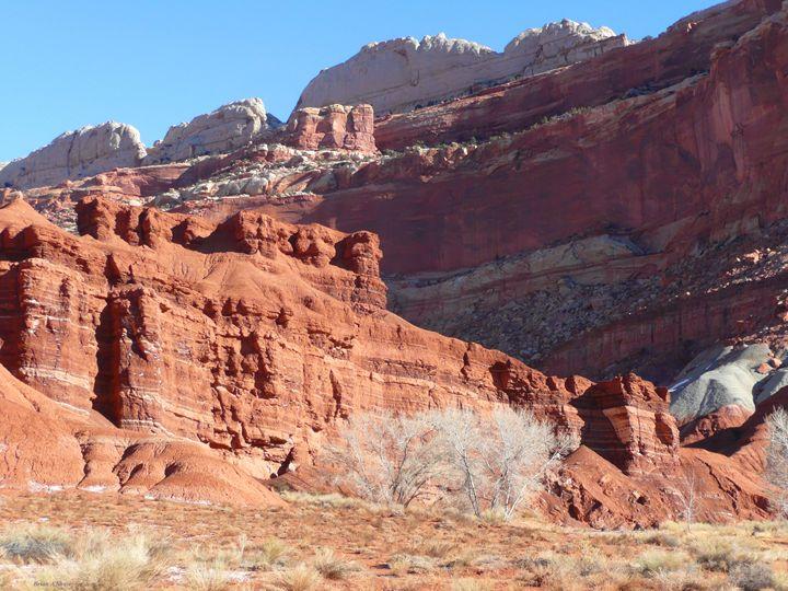 High Wall Red Cliffs - Brian Shaw