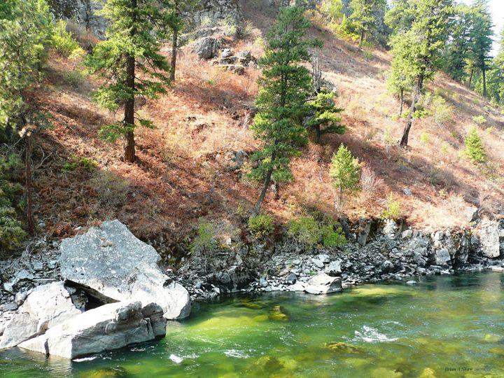 Chunky Rocks River - Brian Shaw