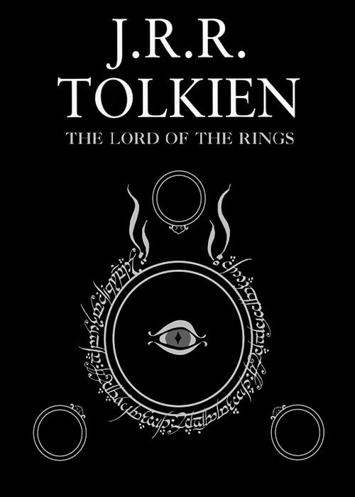 J.R.R. Tolkien Lord of the Rings - Cool art