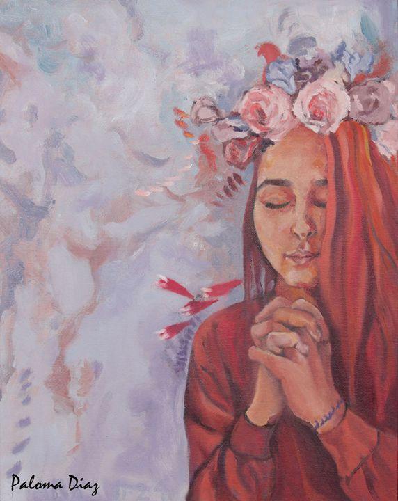 mark 11:24 - Paloma Diaz Art