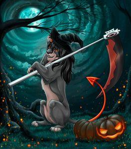 """Halloween in Lion Pride"""