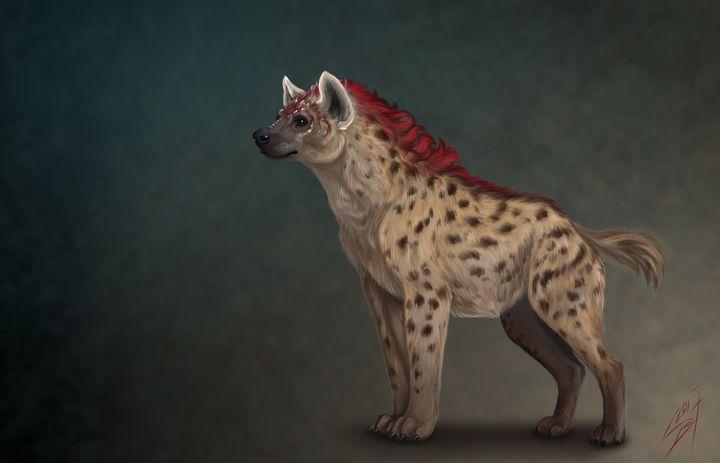 Fantasy hyena - Victoria Sokolova