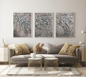 triptych angel