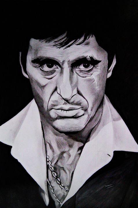 Scarface _ Pacino - Gallery Perumpally