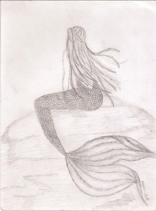 Mermaid - Merrin's Art