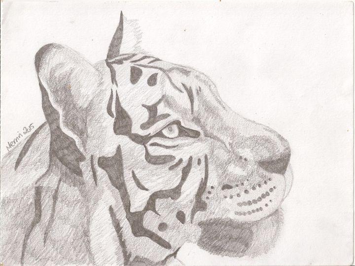 White tiger - Merrin's Art