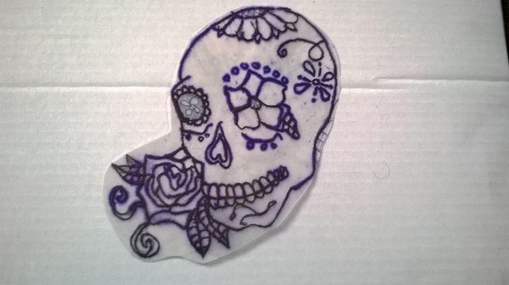 candy skull - adam
