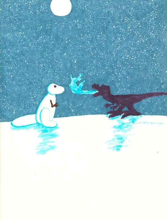 Snowasaurus - Kevin Van Parys