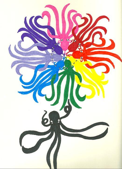 octopus flower - Kevin Van Parys