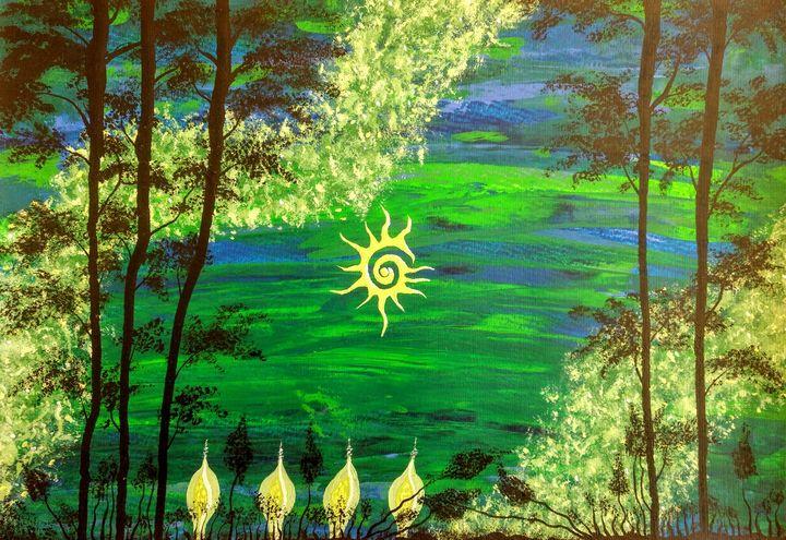 All Seeing Sun - Tim Lippert
