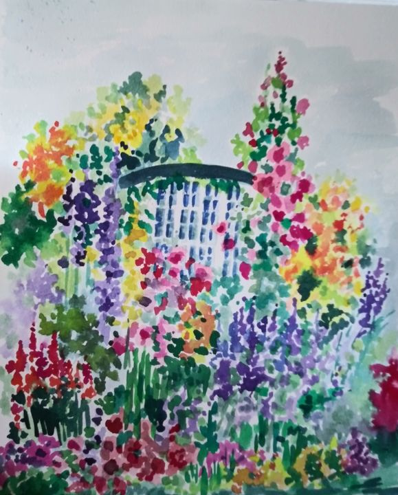 Modern Day Monet - All Things Bright and Colorful